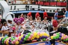 Amsterdam Homoseksualna duma 2015 Fotografia Royalty Free