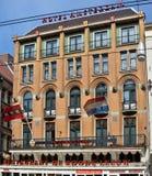 Amsterdam - hotel di Amsterdam Fotografia Stock Libera da Diritti