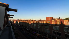 Amsterdam 12hours timelapse. Beautiful full HD 30fps timelapse looking out over Amsterdam, the Netherlands stock footage