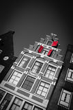Amsterdam house facade Royalty Free Stock Image
