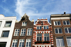 Amsterdam houses Stock Image
