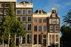 Amsterdam houses  Royalty Free Stock Photos