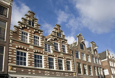 Amsterdam Houses Royalty Free Stock Photography