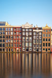 Amsterdam houses stock photo