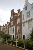 amsterdam houses gammalt Royaltyfri Fotografi