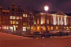 Amsterdam houses in the Netherlands Stock Photos