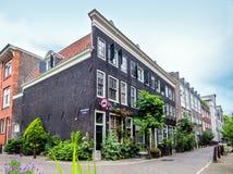 Amsterdam hus Fotografering för Bildbyråer