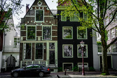 Amsterdam hus Royaltyfri Bild