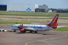 Amsterdam i Paesi Bassi - 26 maggio 2017: PH-CDF Corendon Dutch Airlines Fotografie Stock Libere da Diritti