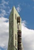 Amsterdam IJ-skeppsdocka Arkivfoto