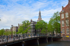 Amsterdam inner city, Netherlands Stock Photos
