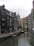 Amsterdam innercity Royalty Free Stock Image