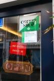 Amsterdam-Kaffeestube Stockfoto