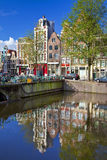 Amsterdam-Kanäle Lizenzfreies Stockfoto