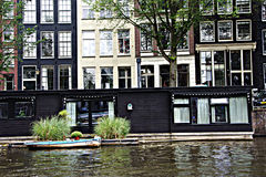 7Amsterdam 18 kanały Zdjęcia Stock