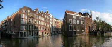 Amsterdam. Kanaal #4. stock foto