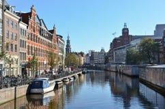 Amsterdam-Kanal lizenzfreie stockfotos