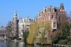 Amsterdam-Kanal Lizenzfreies Stockbild