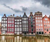 Amsterdam kanal Royaltyfri Fotografi