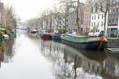 Amsterdam-Kanal Stockbilder