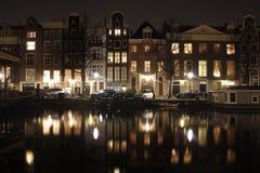Amsterdam-Kanal Stockfotos