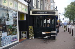 amsterdam kawowy holandii sklep Obrazy Royalty Free