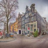 Amsterdam, Keizersgracht Zdjęcia Stock