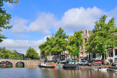 Amsterdam. Keizersgracht canal Royalty Free Stock Photography