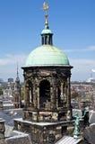 Amsterdam king's palace pinnacle Stock Photography