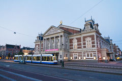 Amsterdam-Konzertgebäude stockfotos