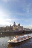 Amsterdam kryssning Royaltyfria Bilder
