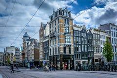 Amsterdam, la città della gioventù Fotografie Stock Libere da Diritti