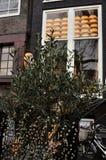 Amsterdam, la Hollande-Septentrionale, fromage Photos libres de droits