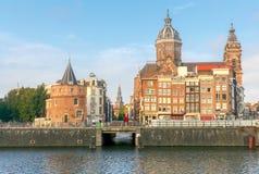 Amsterdam La iglesia de San Nicolás fotos de archivo libres de regalías