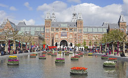 Amsterdam landmark Stock Image