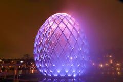 AMSTERDAM, LE 19 DÉCEMBRE NÉERLANDAIS : Festival de lumière dans 20 Photos libres de droits