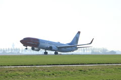 Amsterdam les Pays-Bas - 2 avril 2017 : LN-NID Norwegian Air Shuttle Image stock