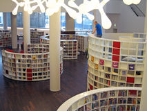 Amsterdam Library. The Amsterdam Public Library - the interior - children section