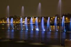 Amsterdam-Licht-Festival 2016 - ACRO Lizenzfreies Stockbild