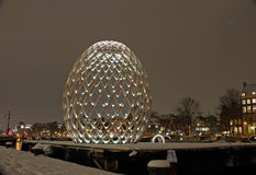 Amsterdam Light Festival Royalty Free Stock Image