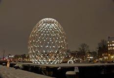 Amsterdam Light Festival royalty free stock image