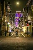Amsterdam, Netherlands - December 24, 2017 - De 9 Straatjes Royalty Free Stock Photos