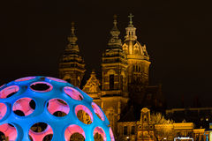 Amsterdam Light Festival Royalty Free Stock Photography