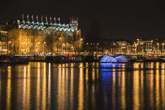 Amsterdam lights festival 2014 Royalty Free Stock Images