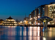 Amsterdam ljusfestival 2016 Arkivfoton