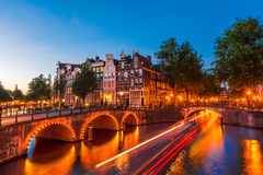 Amsterdam, los Países Bajos Fotografía de archivo