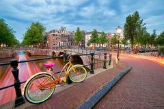 Amsterdam, los Países Bajos Imagen de archivo libre de regalías