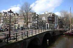 Amsterdam, los Países Bajos Imágenes de archivo libres de regalías