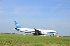 Amsterdam, los Países Bajos - puede, 11mo 2015: B-2041 China Southe Foto de archivo libre de regalías
