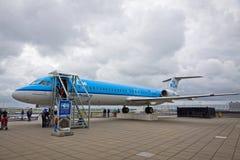 Amsterdam lotnisko Schiphol Obrazy Royalty Free